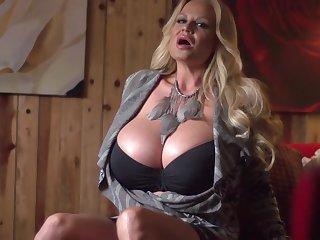 Astounding masturbation sport for seductive blonde Kelly Madison