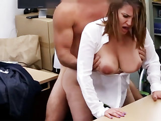 Betrothed business lady agreed fuck for money