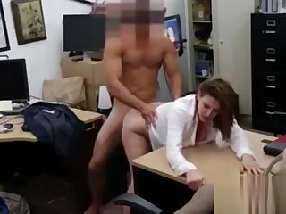Foxy business lady fucked be advisable for a plane ticket back home