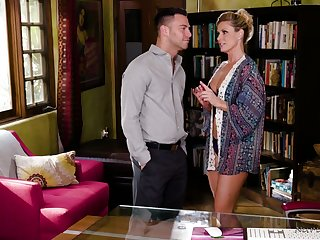 In all directions from oiled sexpot India Summer rides dick right in the massage parlor