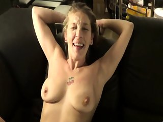 Mature amateur spliced homemade anal with hot facial
