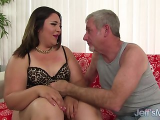 Unintentional Old Man Drills Young and Cute Latina Plumper Gia Star
