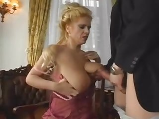 Upper case Saggy Pair MILF Gets Young Cock