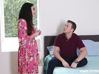 Stepson fucks smoking hot brunt step mommy with big tits Sheena Ryder