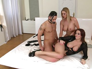 Sexual perfection for team a few milfs in scenes of femdom