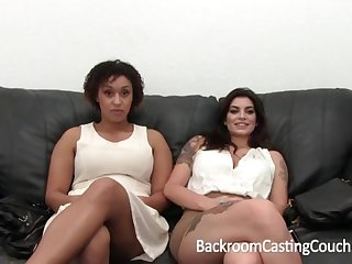 Famous Bi-Racial Hefty Ogle 3Some Audition